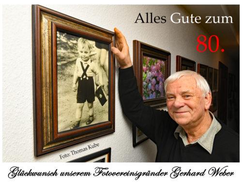 80. Geburtstag von Gerhard Weber